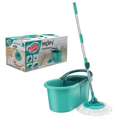 Balde/Mop Girat.(Kit) Flash Limp MOP8210