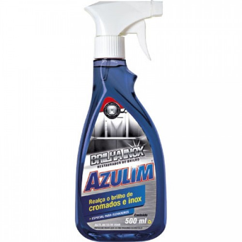 AZULIM BRILHA INOX 500ML START